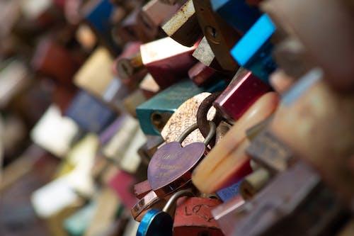 Free stock photo of key, lock, love