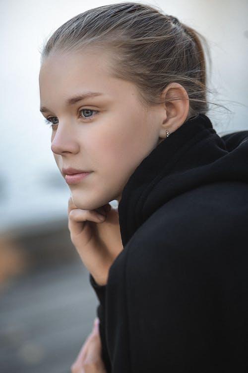 Immagine gratuita di adolescente, capelli, capello