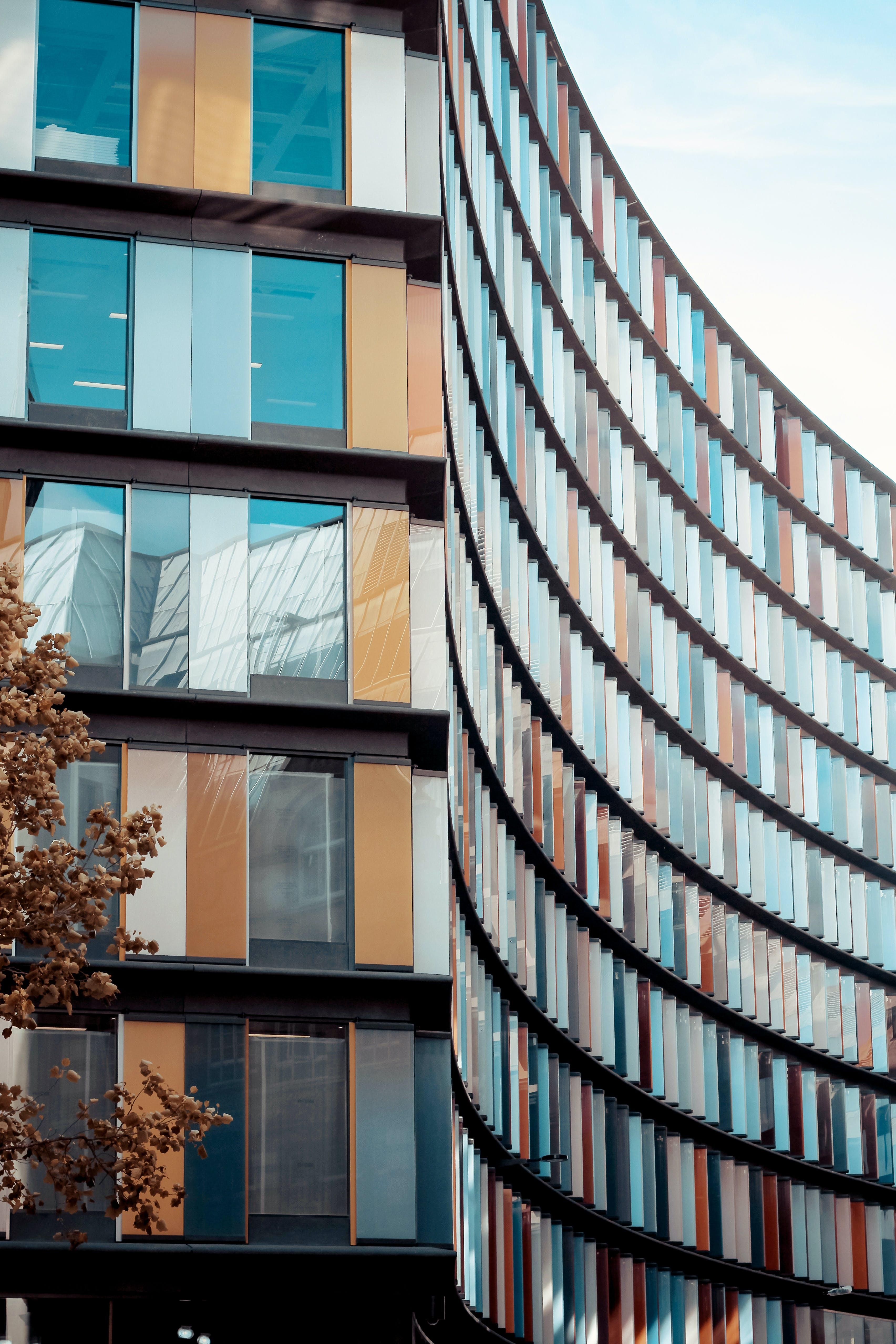 Kostenloses Stock Foto zu architektur, architekturdesign, außen, büros