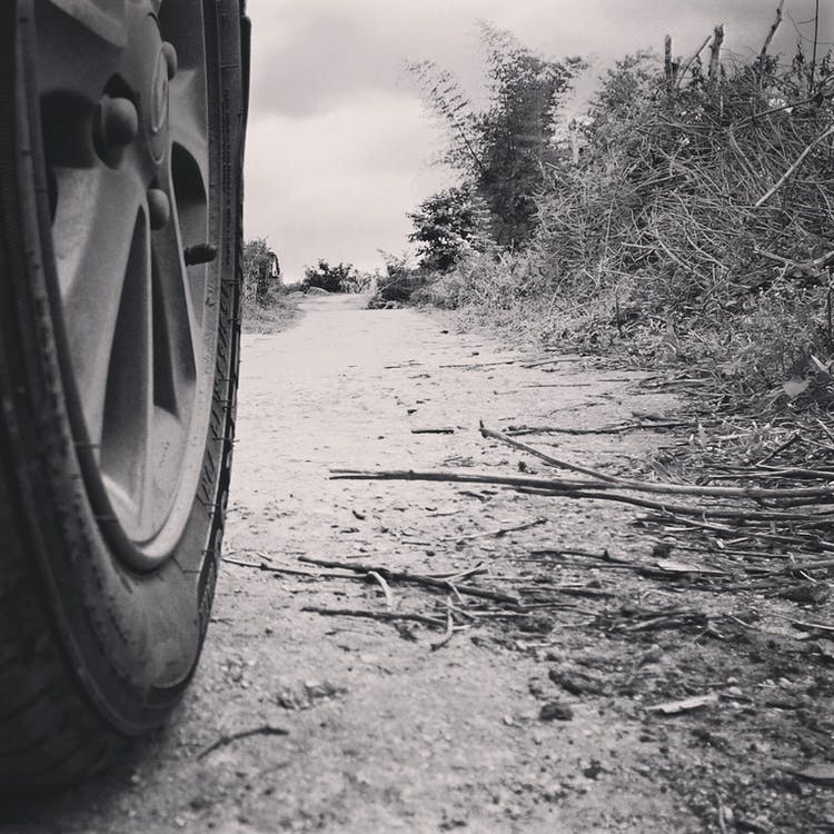 camino polvoriento