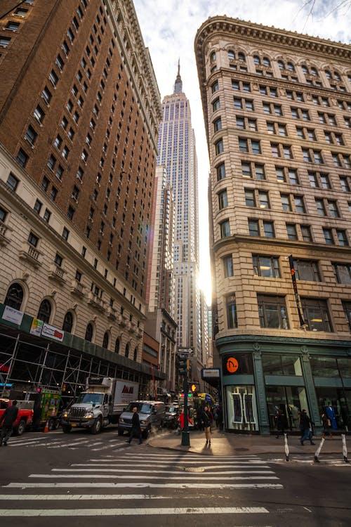 거리, 건물, 건축의 무료 스톡 사진