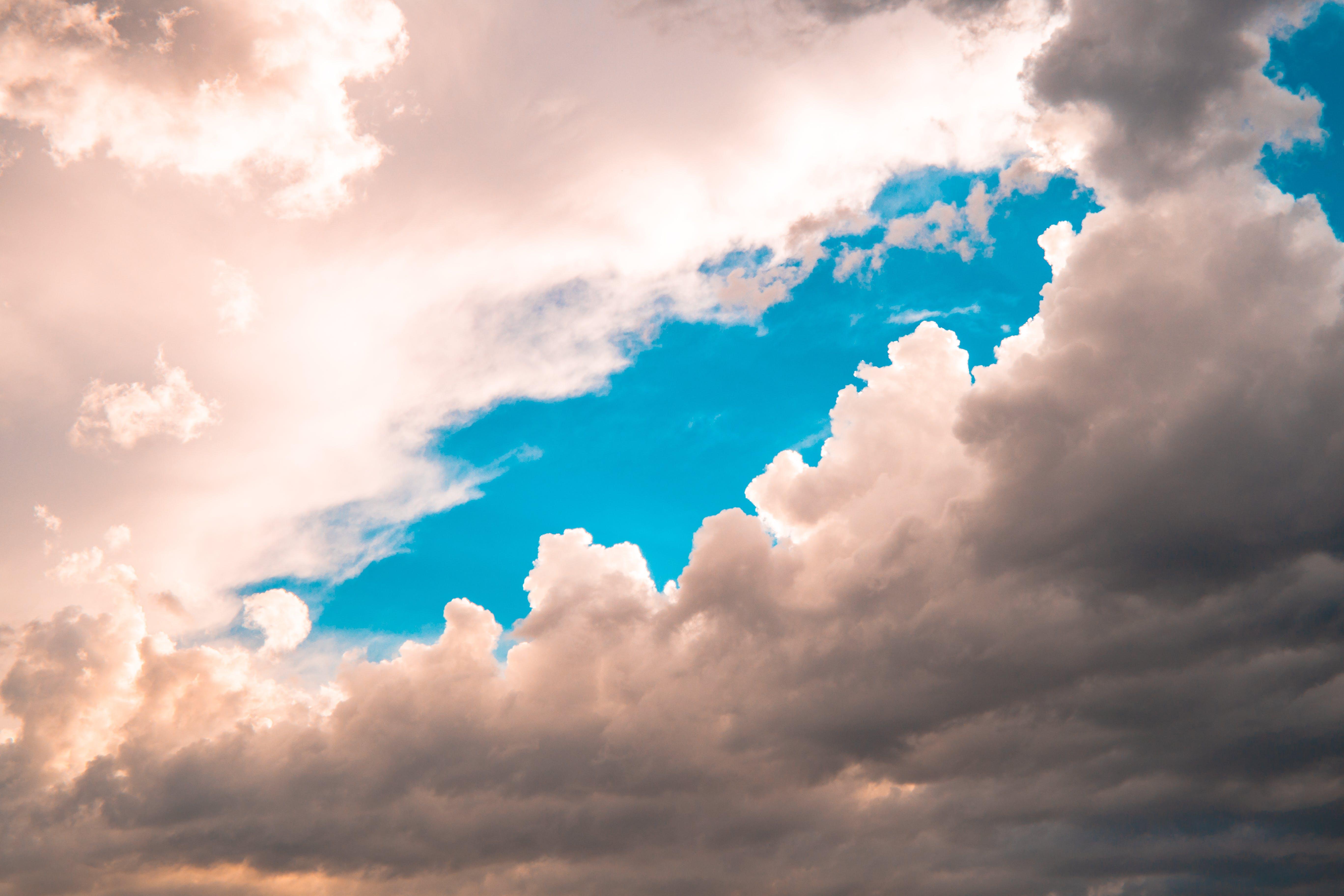 Kostenloses Stock Foto zu atmosphäre, blauer himmel, draußen, hell