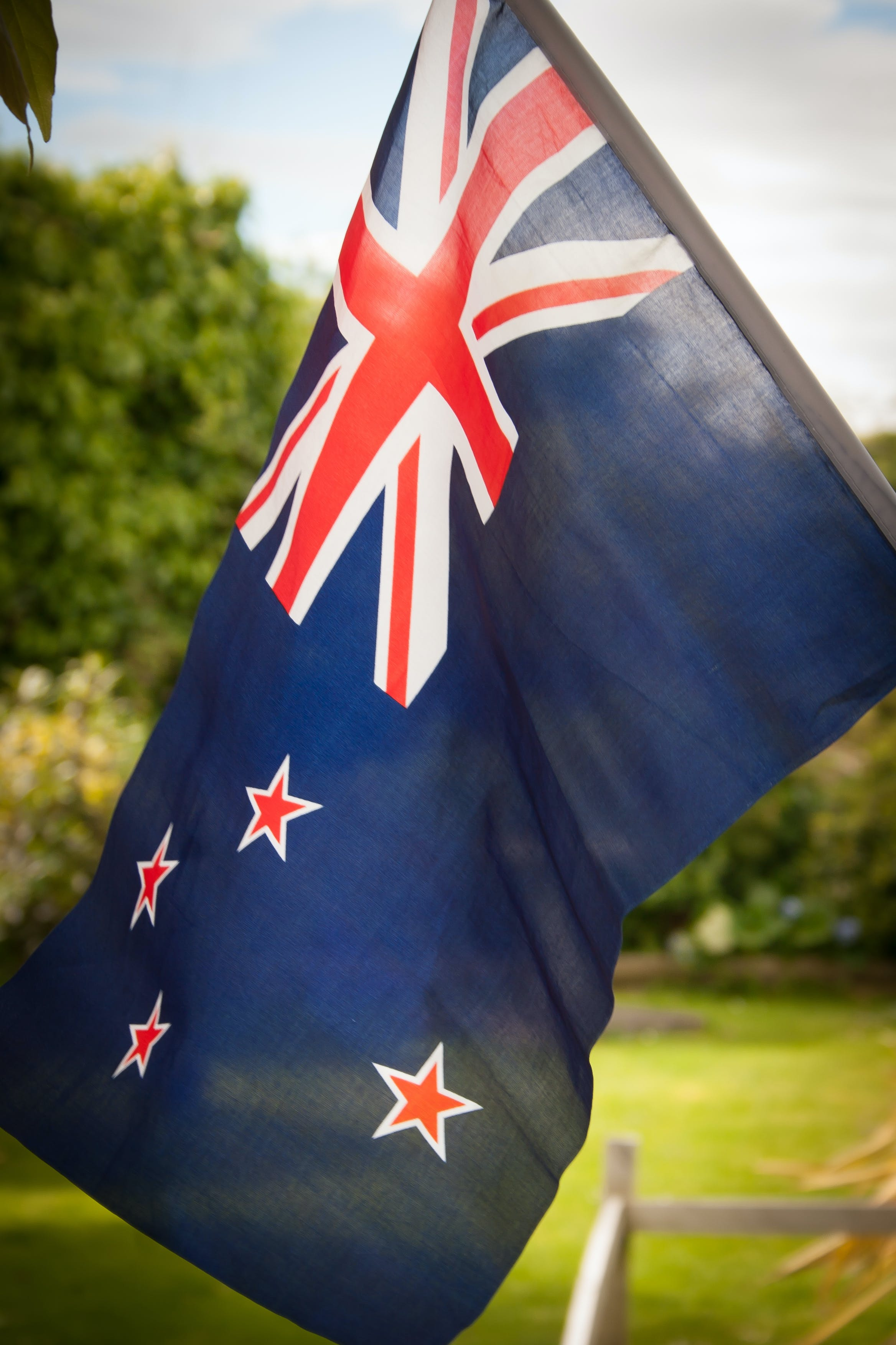 Free stock photo of flag, new zealand