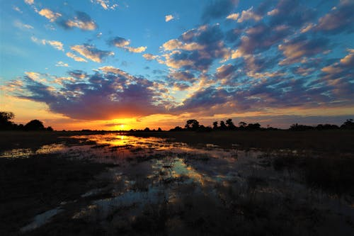 @アウトドア, cloudscape, オレンジの無料の写真素材