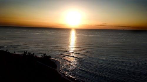 Foto profissional grátis de pôr do sol