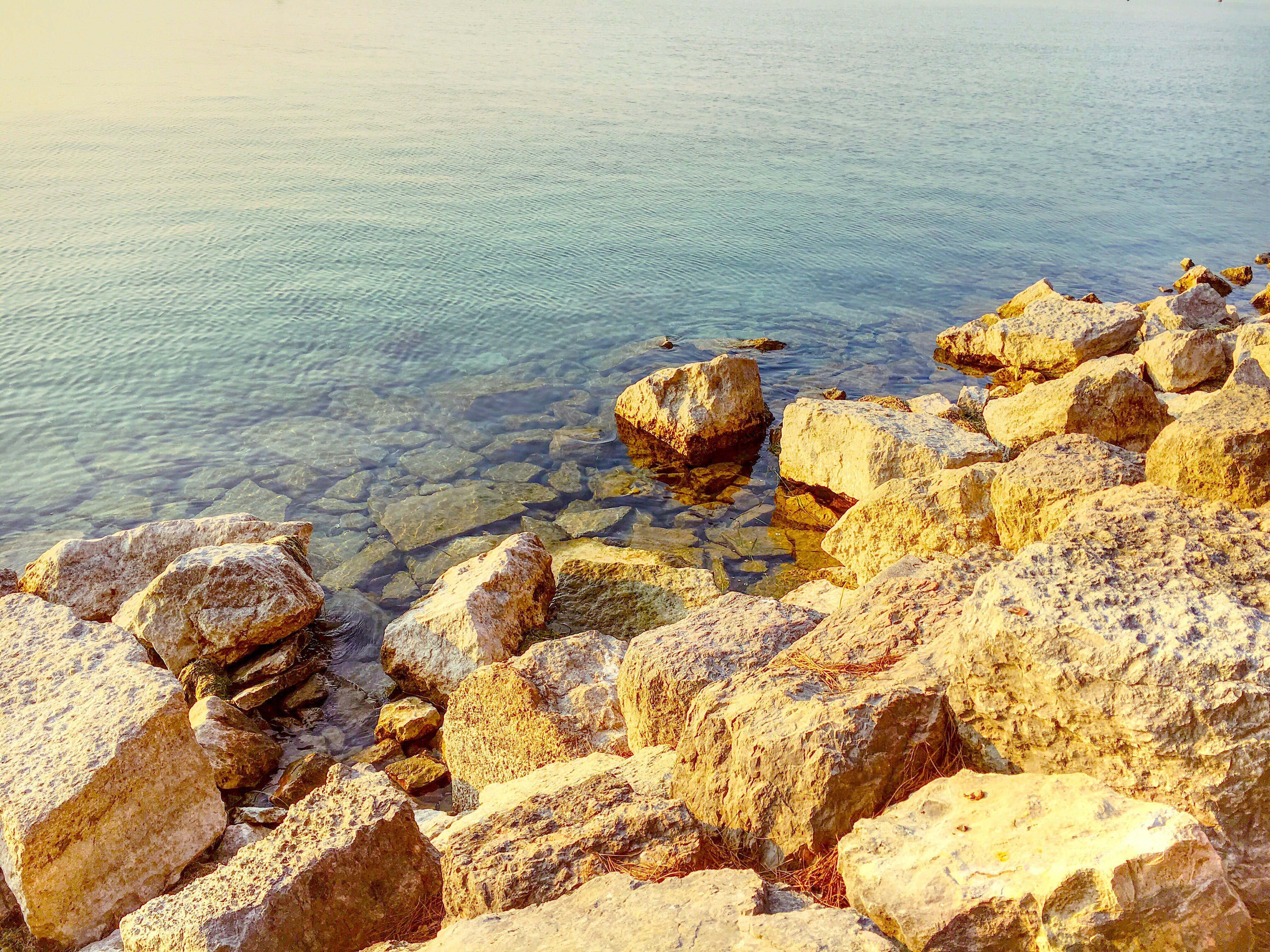 Δωρεάν στοκ φωτογραφιών με βράχια, γραφικός, ήλιος, θάλασσα