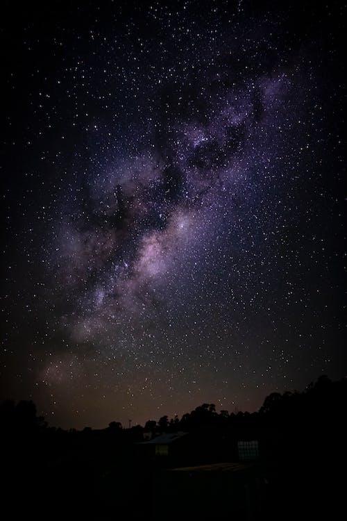 Foto stok gratis astrofotografi, galaksi, galaxia