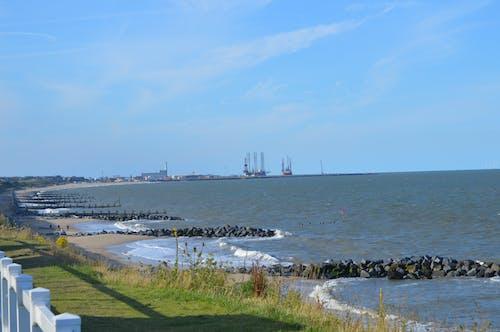 Free stock photo of beach, port, sea