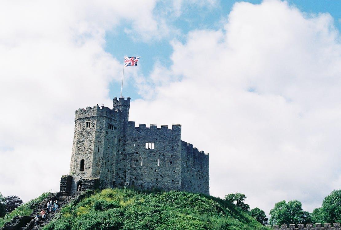 arkitektur, befæstning, borg