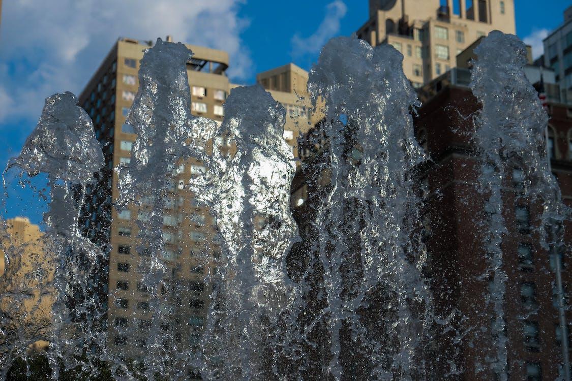 água limpa, água transparente, arquitetura