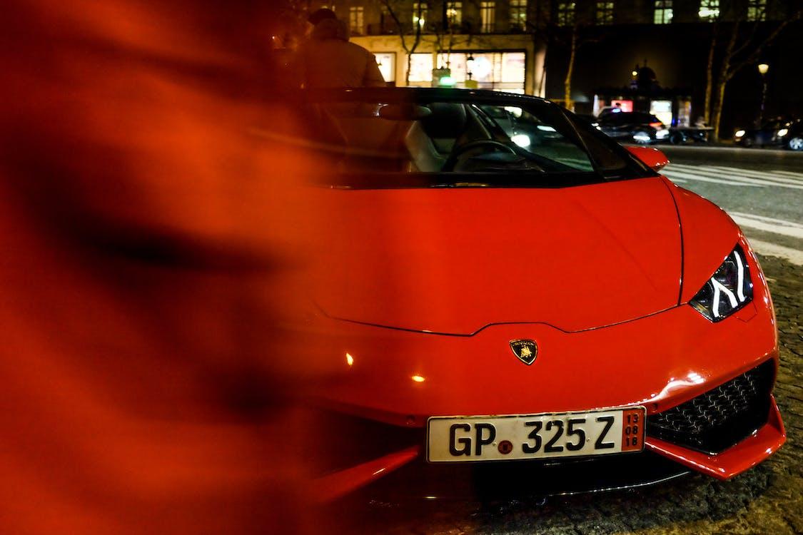 Lamborghini, автомобіль, місто