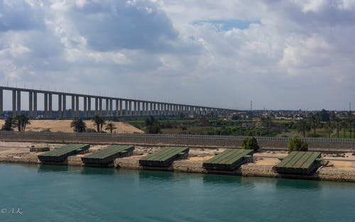 Free stock photo of Suez Canal