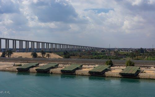 Free stock photo of suez canal