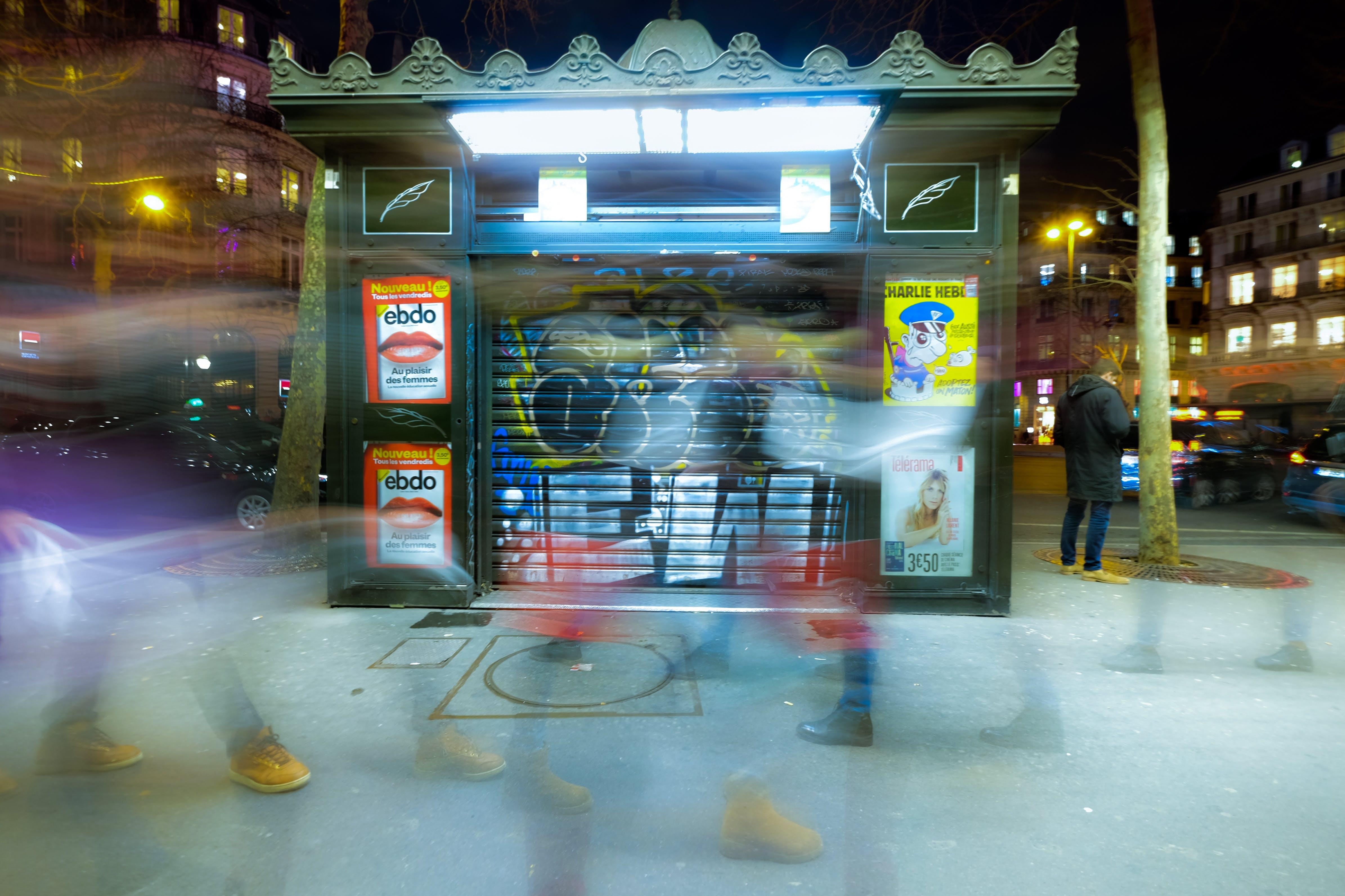 Free stock photo of blur, city, citylife, citylights