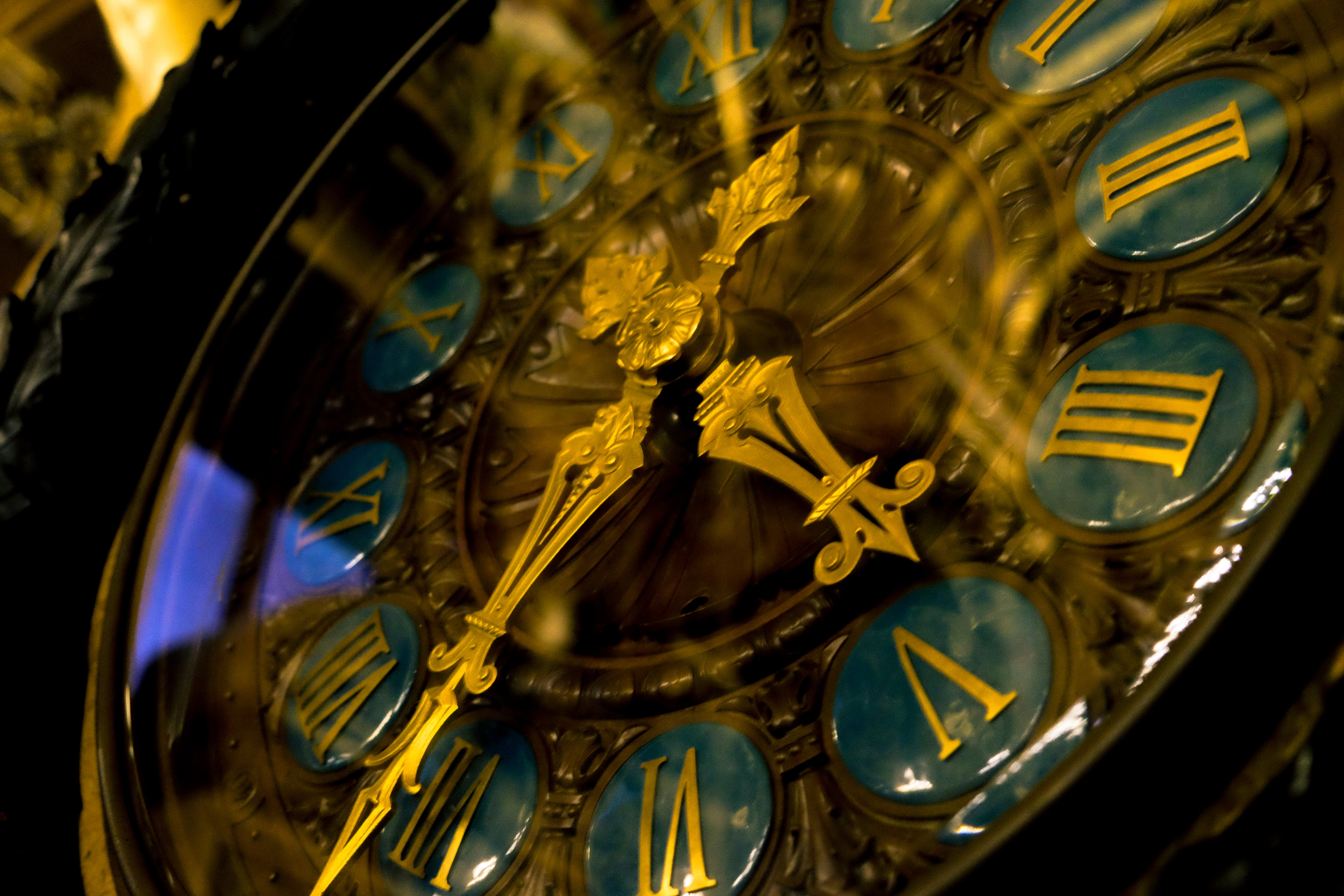 Free stock photo of gold, reflections, time