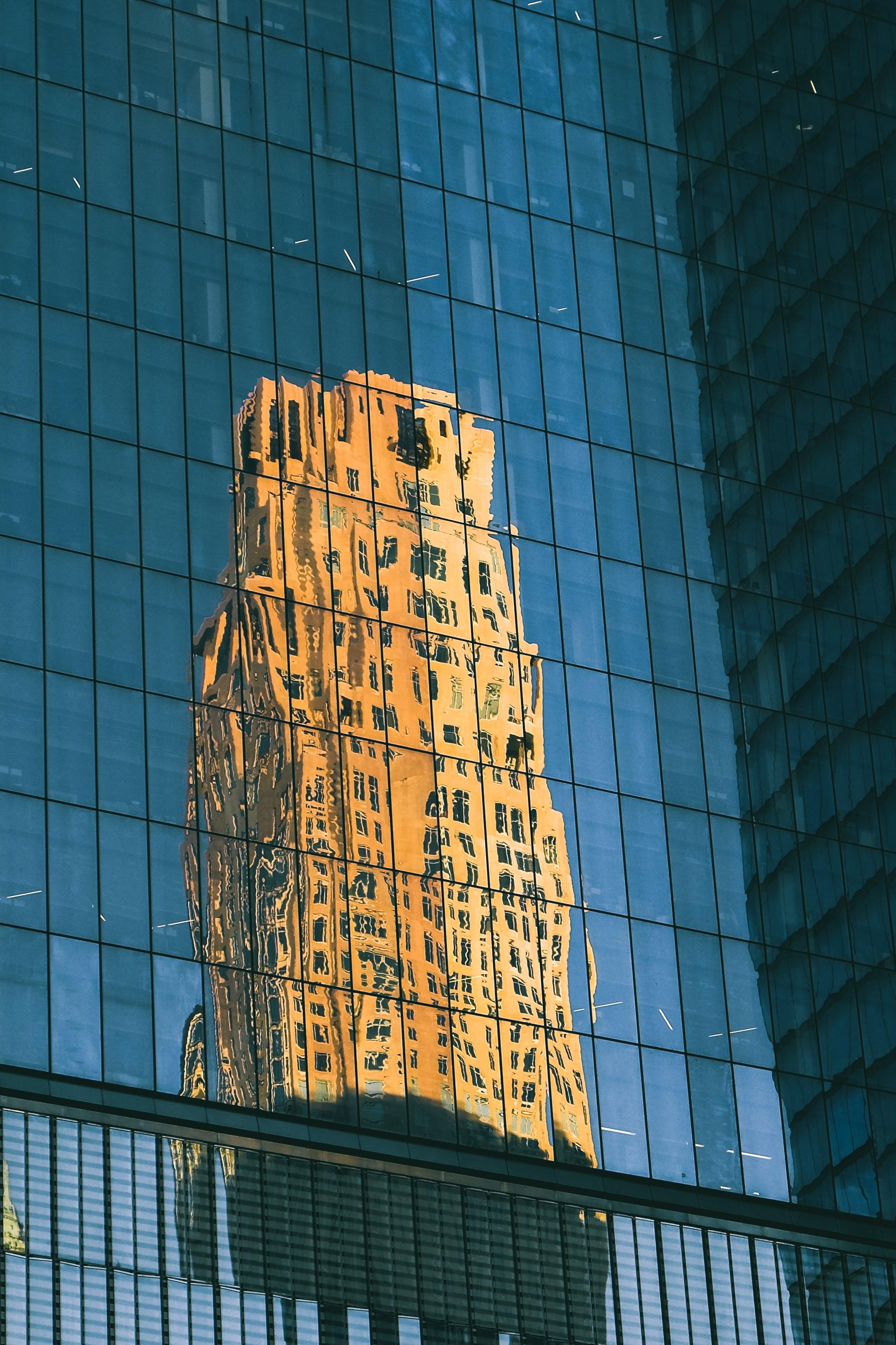 Free stock photo of architectural design, architecture, big apple, glass