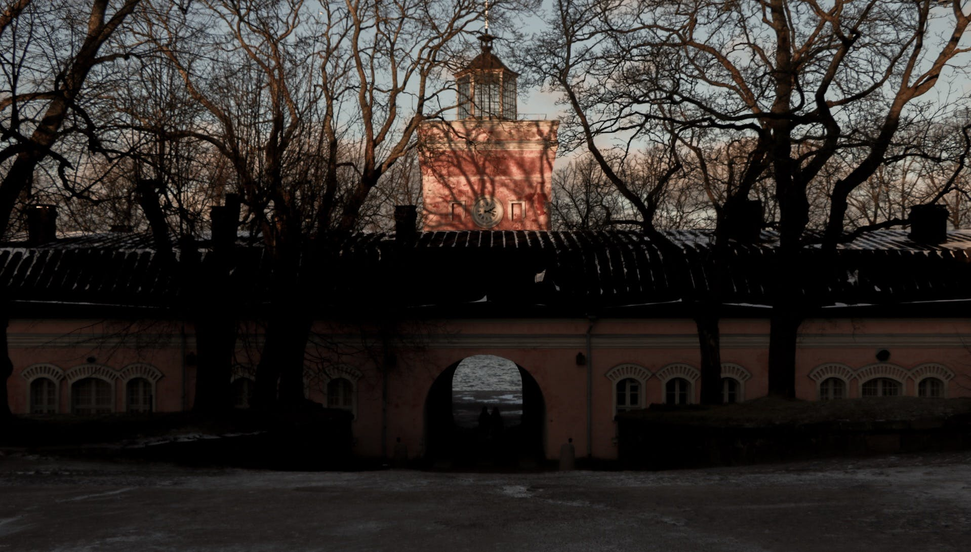 Free stock photo of architecture, bell tower, pink, sunset
