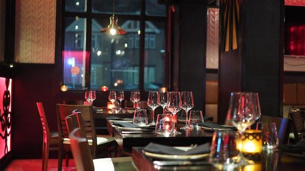 Free stock photo of restaurant, hotel, table, luxury