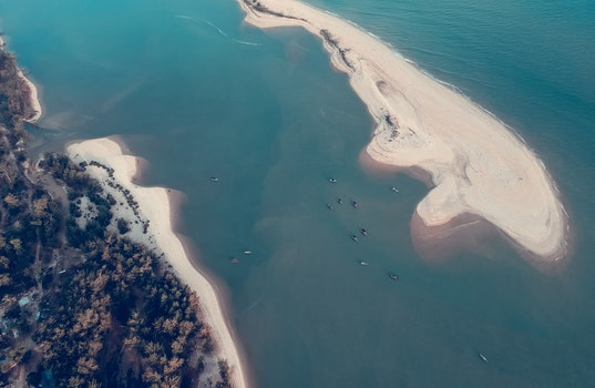 Aerial Photography of Island \
