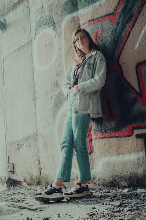 Foto stok gratis coretan, dewasa, dinding
