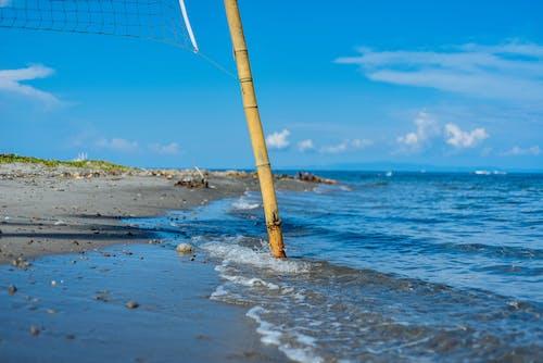 Imagine de stoc gratuită din apă, face cu mâna, faleză, iarbă