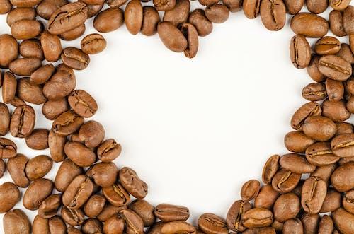 カフェイン, コーヒー豆, バックグラウンド, マクロ撮影の無料の写真素材