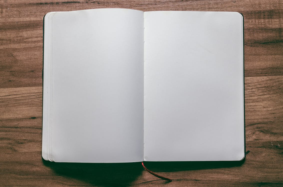 Notebook With Blank Pages
