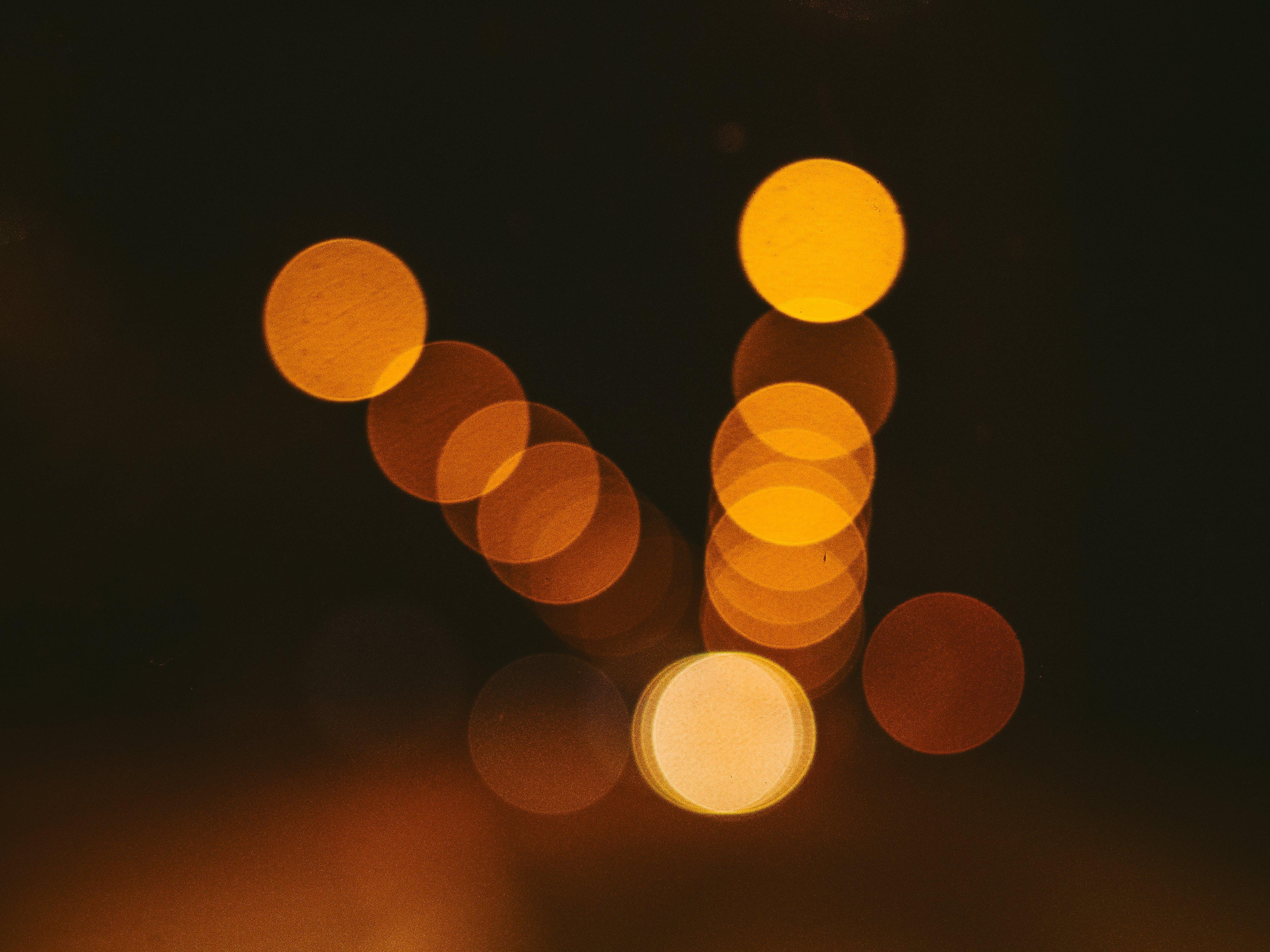 Free stock photo of traffic, lights, night, street