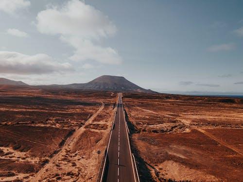 Photos gratuites de à distance, aride, autoroute