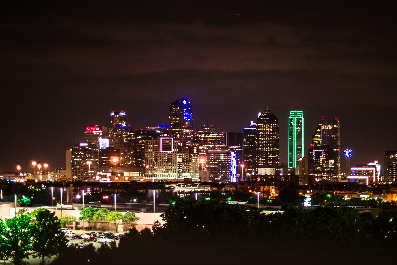 Základová fotografie zdarma na téma Dallas, panoráma