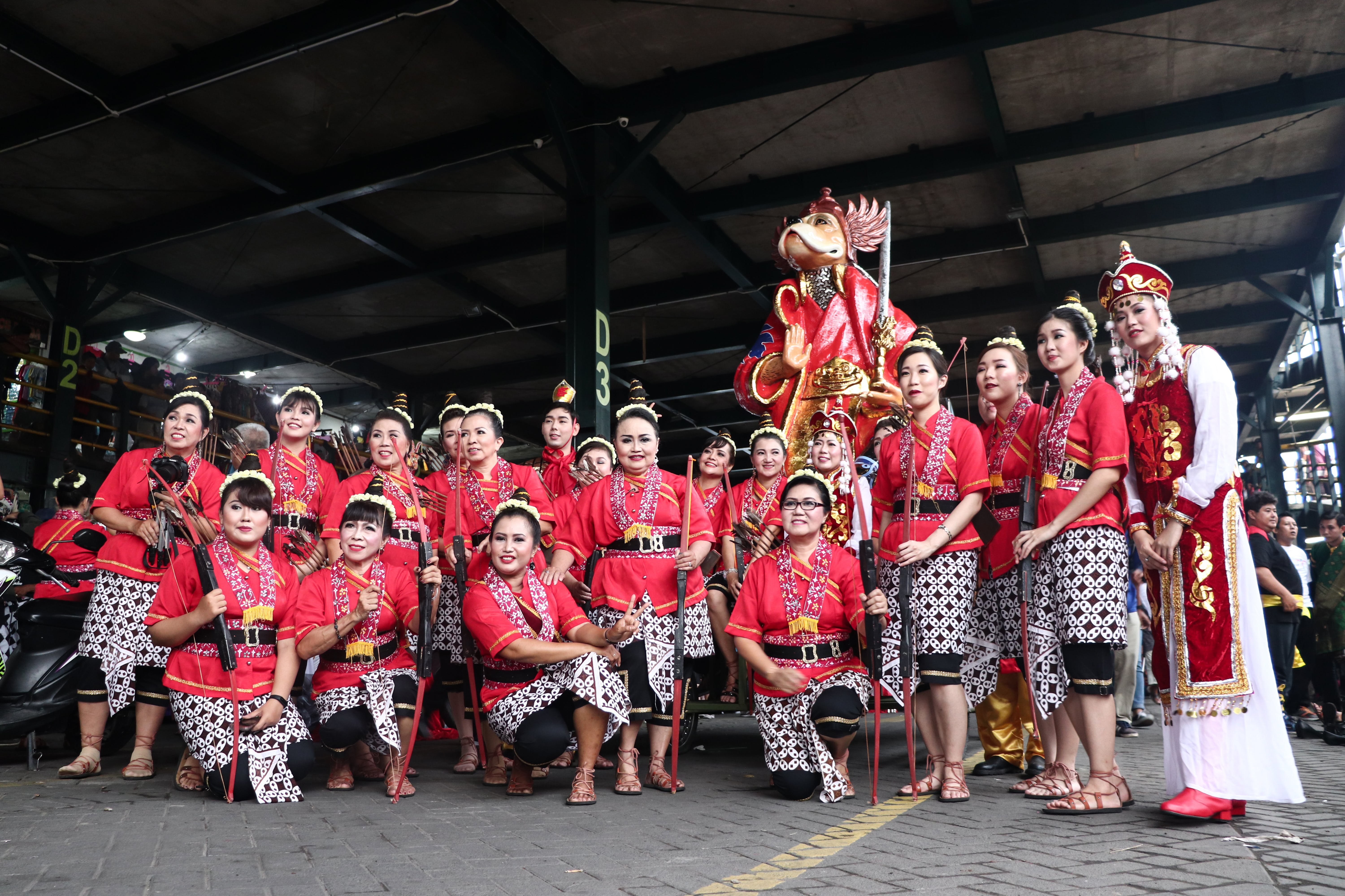 Group of Person Wearing Cultural Dress Taken a Photo