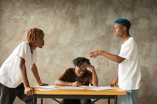 Free stock photo of adult, black man, black woman