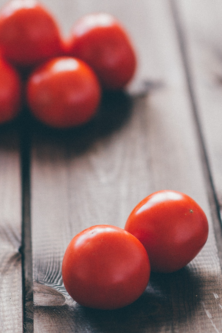 cherry tomatoes, table, tomatoes