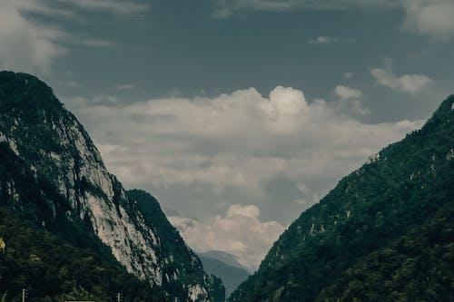 Free stock photo of gorge, the giant mountains