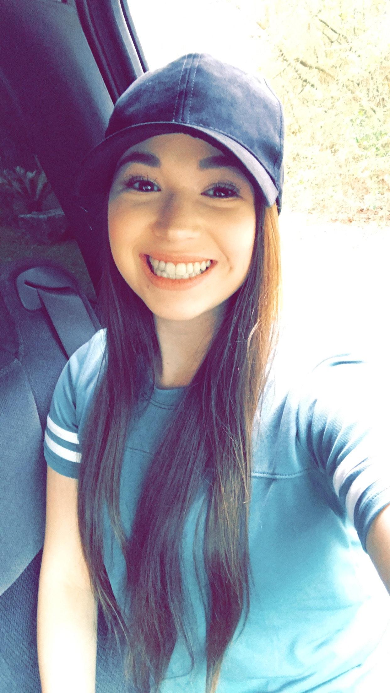 Free stock photo of Ball cap, selfie, smile