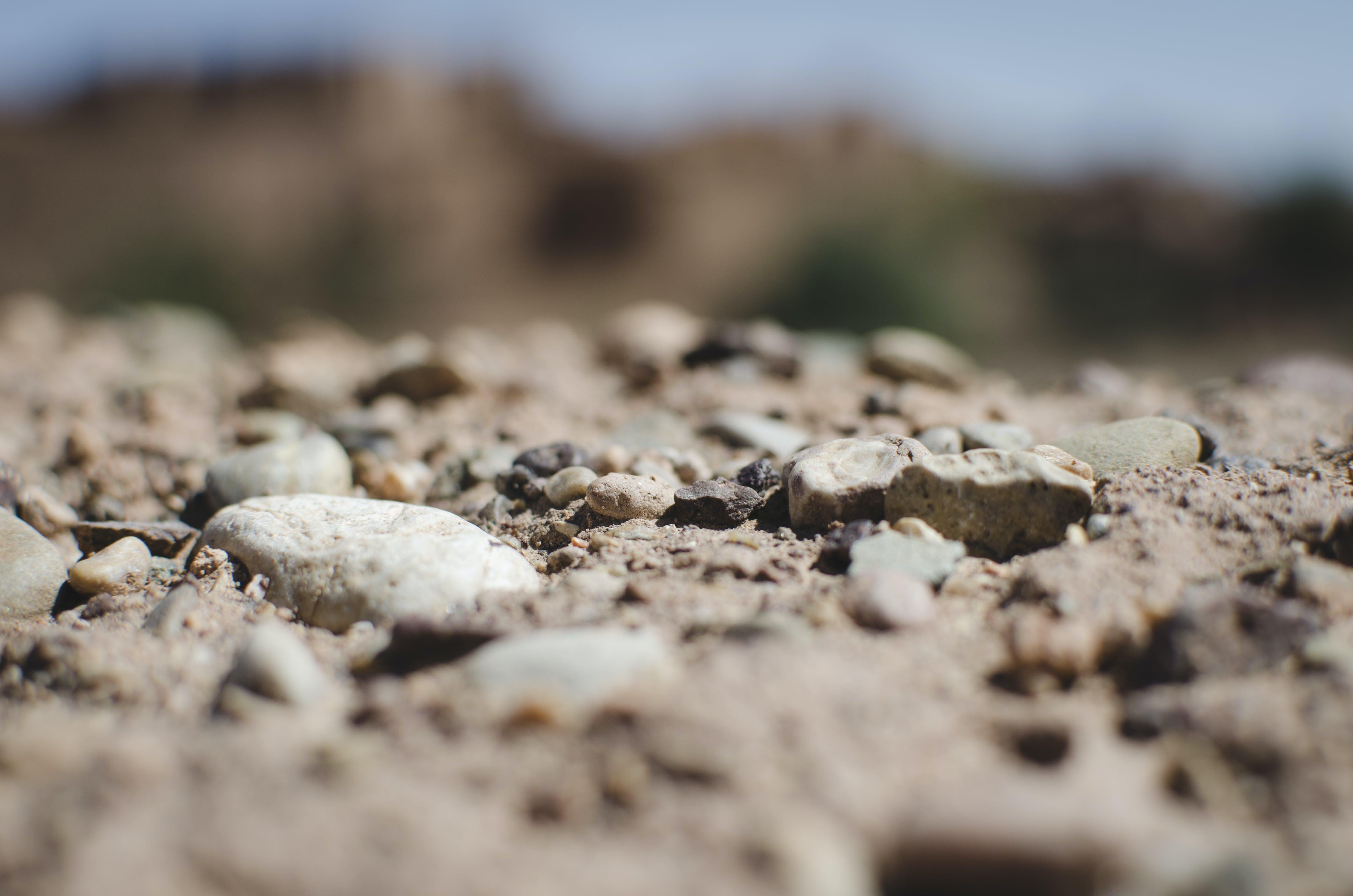 Gray Sands Closeup Photo
