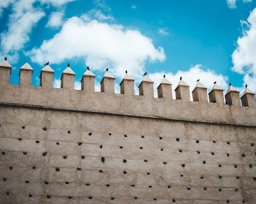 Ingyenes stockfotó ég, építészet, épület, fal témában