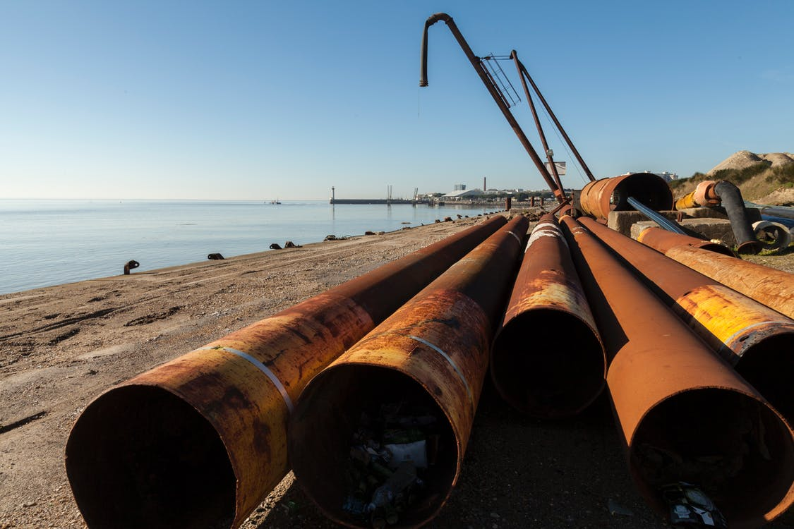 Free stock photo of oil pipe, pipe, polution