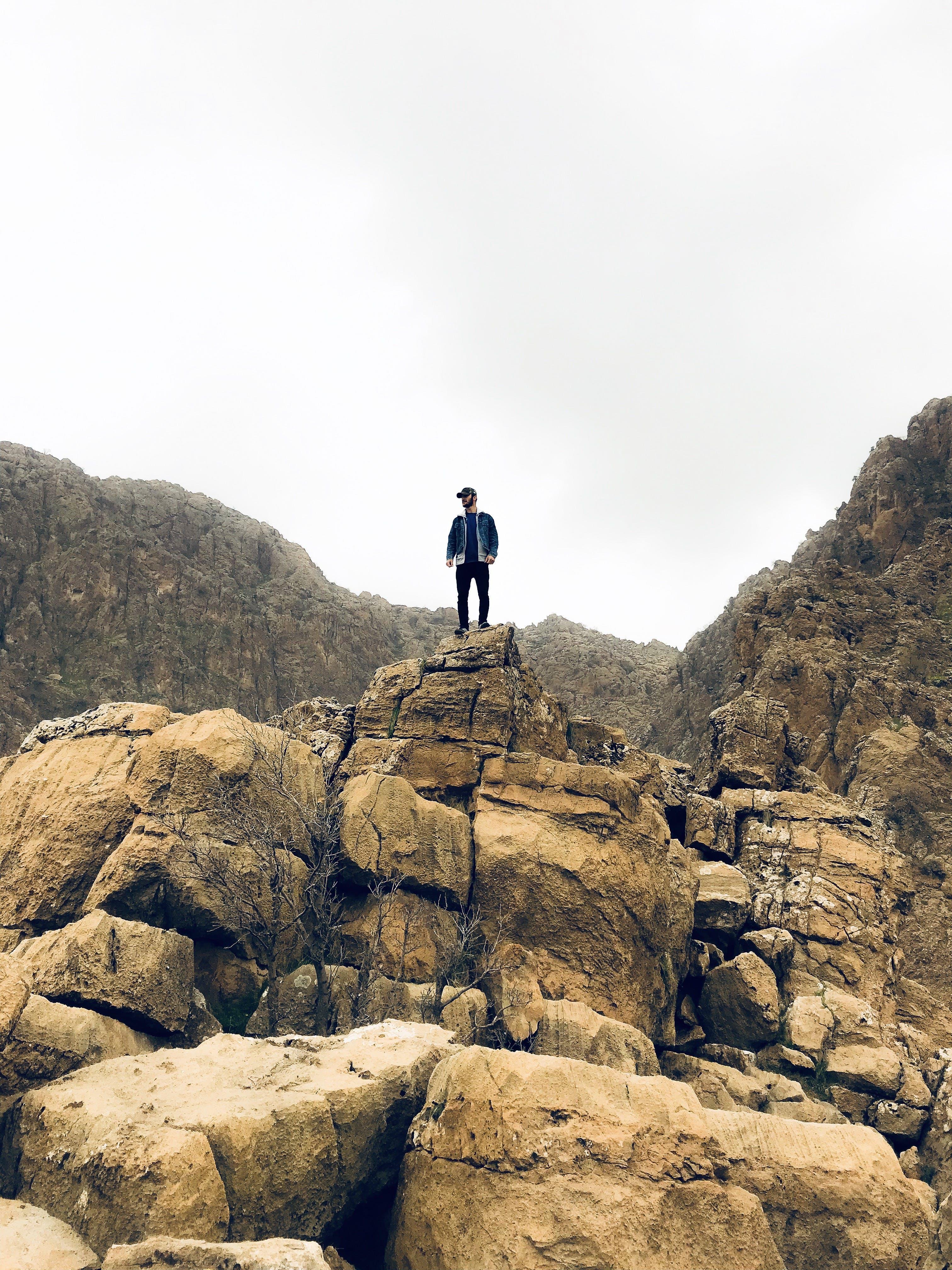 Бесплатное стоковое фото с активный отдых, альпинизм, Взрослый, восходить