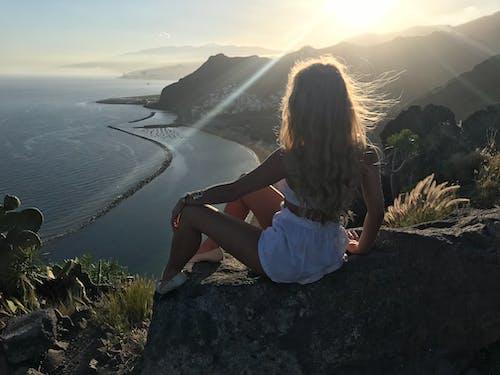 Free stock photo of beach, beautiful, blonde, girl