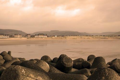 Foto d'estoc gratuïta de aberavon, mar, natura, platja