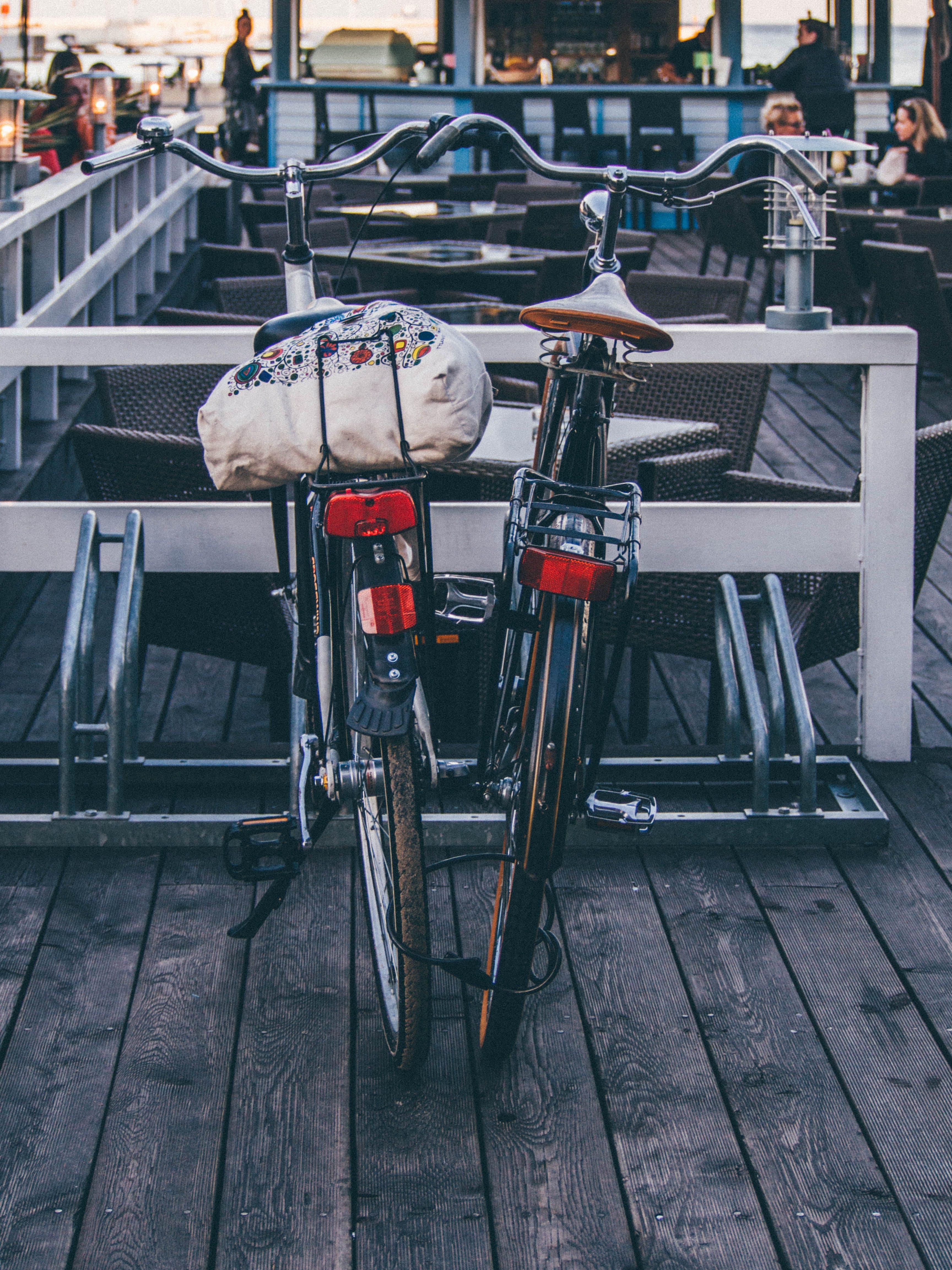 bar, bicycles, bikes