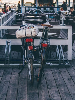 Free stock photo of restaurant, people, bar, bikes