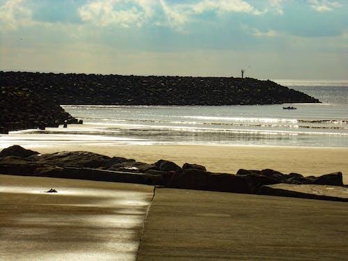 Foto d'estoc gratuïta de aberavon, aigua, mar, natura