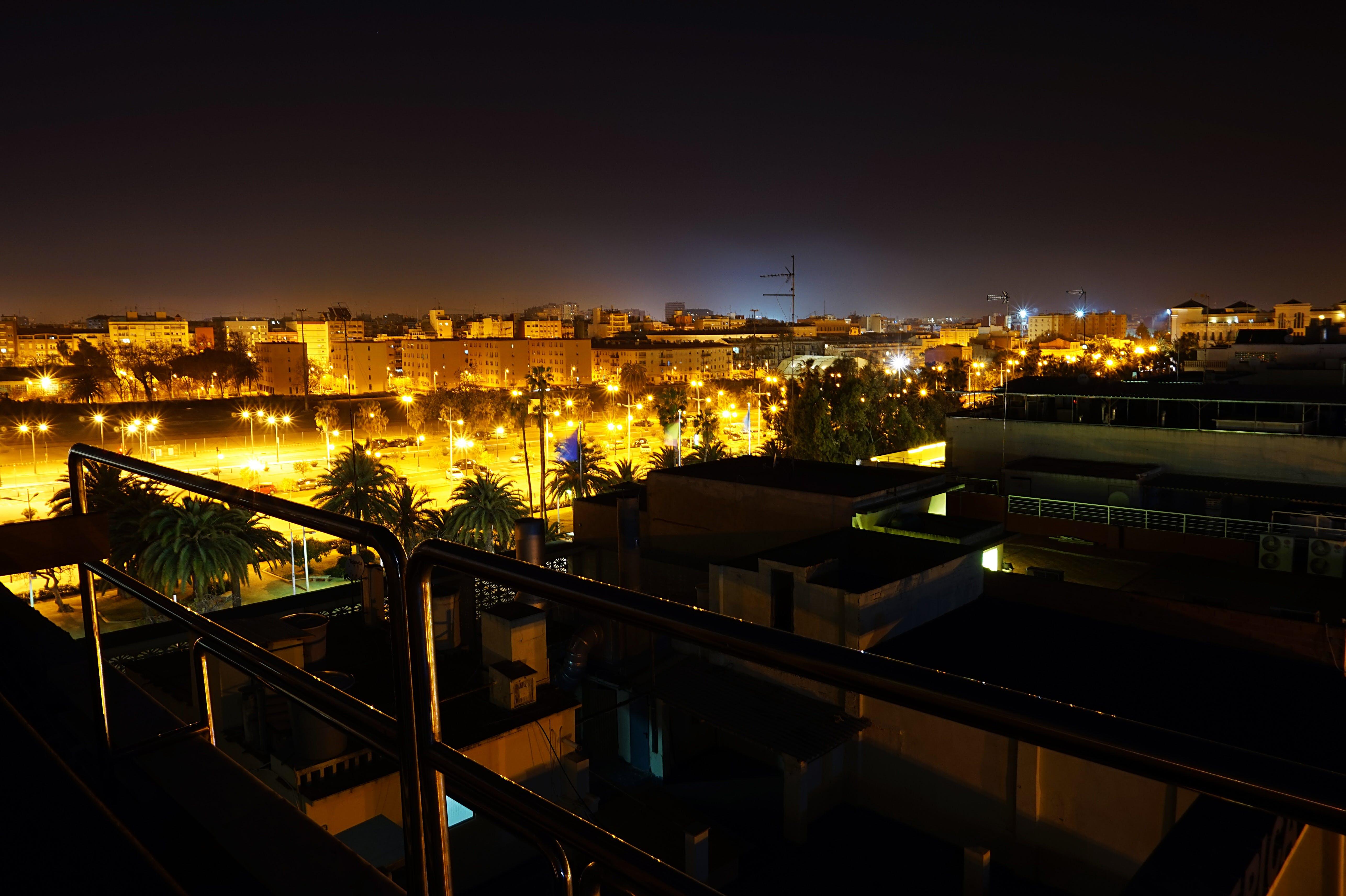 Free stock photo of city, lights, night, city light