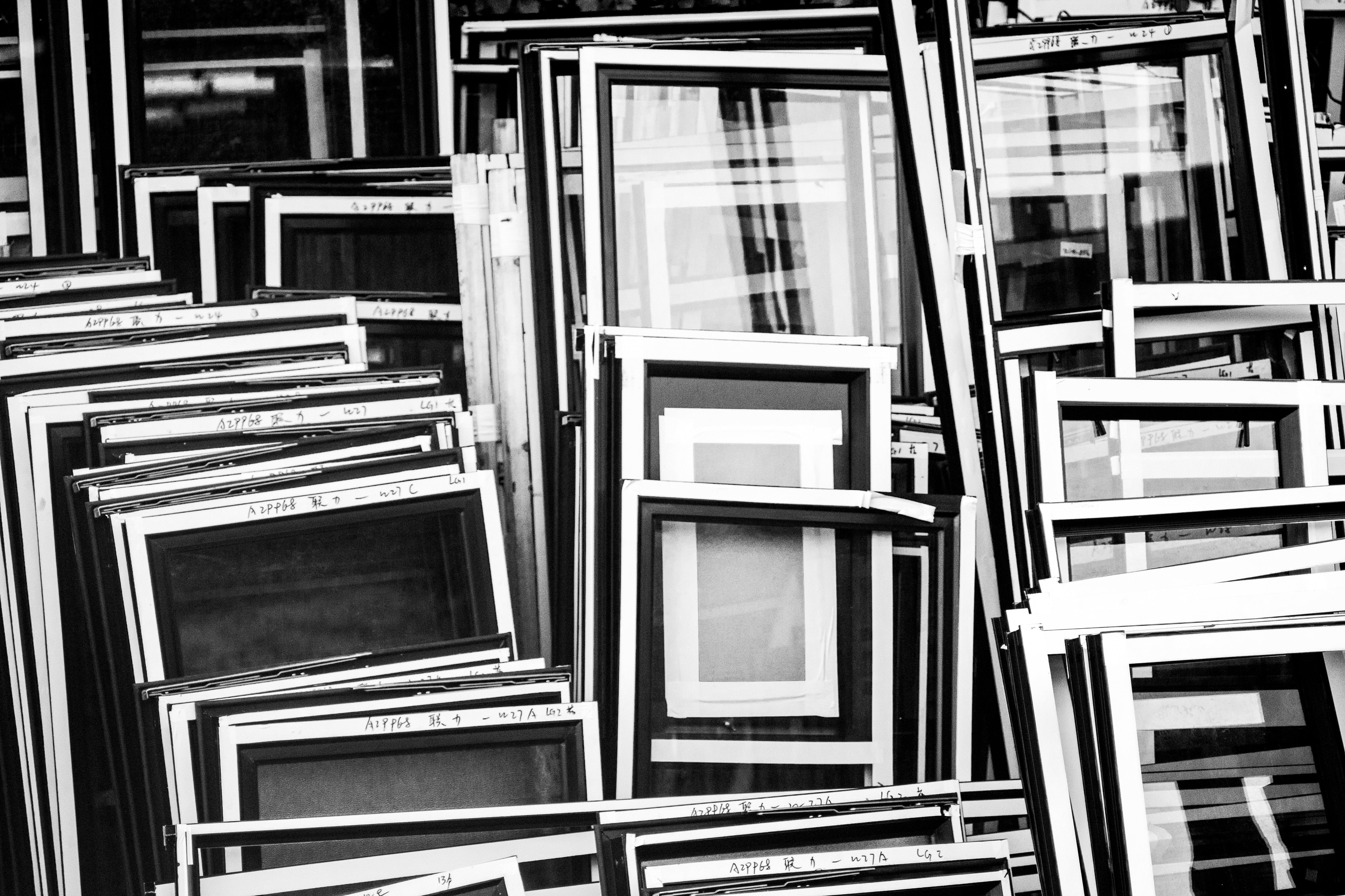 Monochrome Photography of Frames