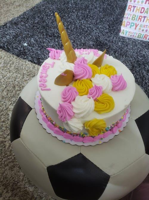 Free stock photo of birthday cake, unicorn, unicorn cake