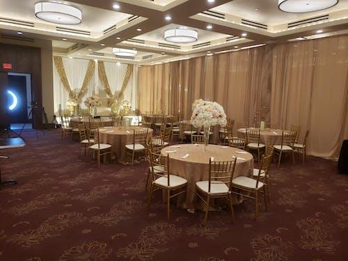 Free stock photo of wedding hall