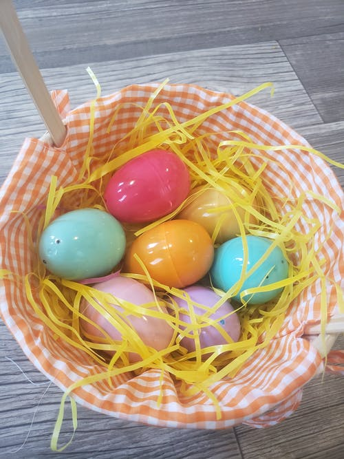 Free stock photo of colorful, easter decor, eggs