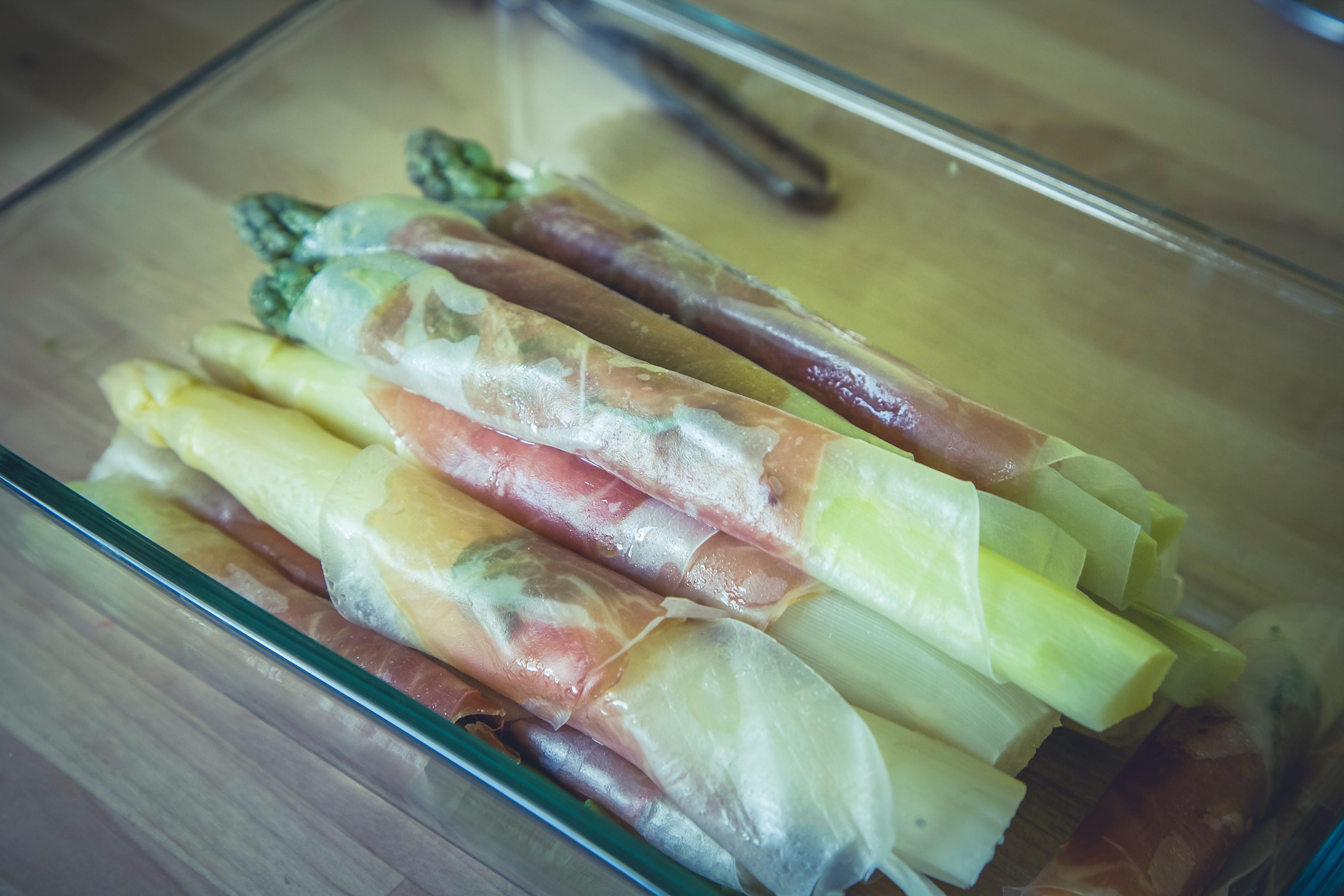 Free stock photo of white, green, gourmet, asparagus